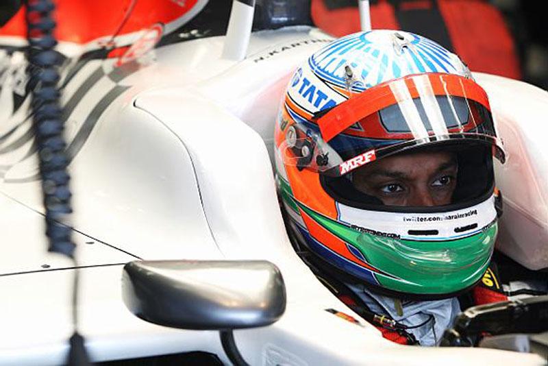 Karthikeyan disputou sete provas pela Hispania no ano