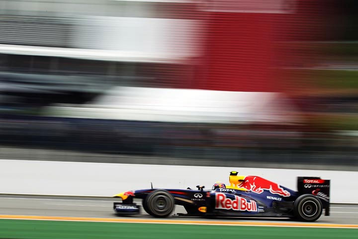 Mark Webber: de olho em manter bom ritmo de Spa
