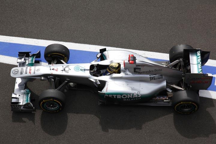 Schumacher: exibição em Spa incentiva piloto para Monza
