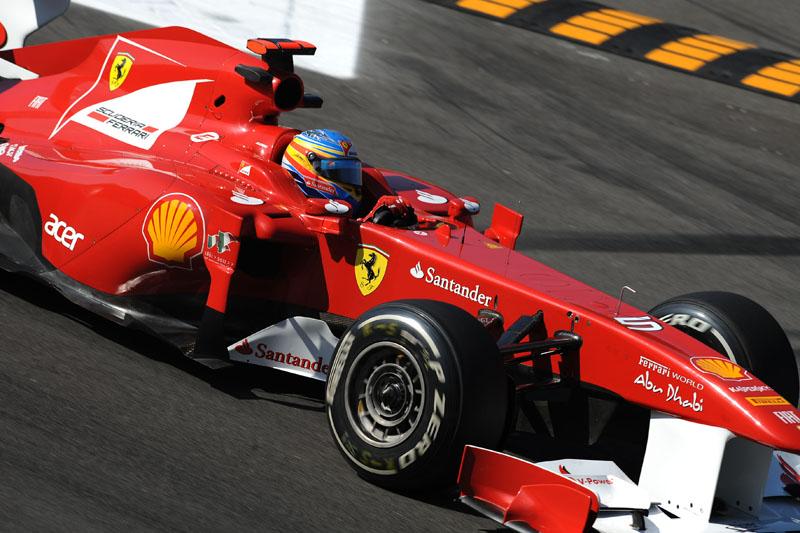 Alonso foi o quinto melhor nesta sexta-feira
