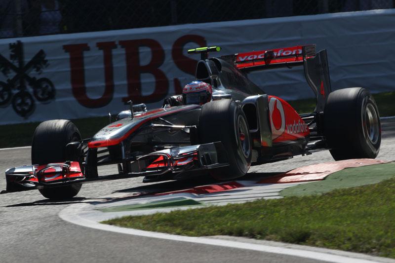 As McLaren andaram bem na sexta-feira em Monza