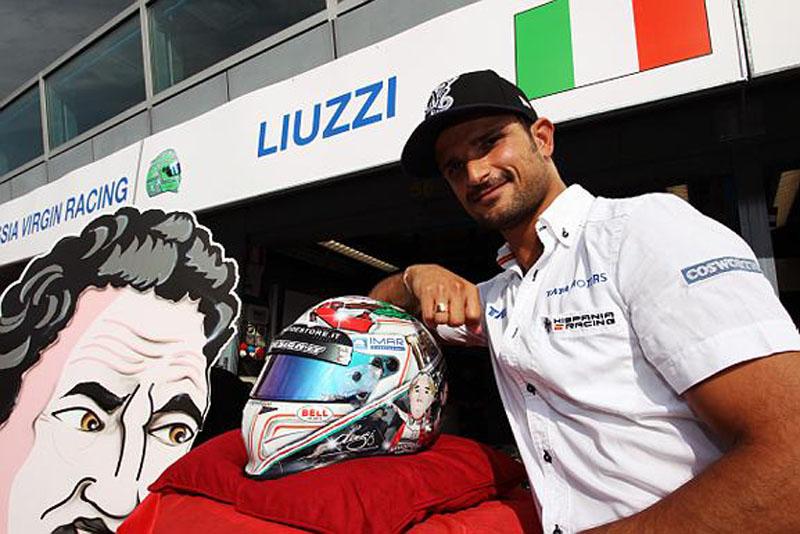 Liuzzi corre pela Hispania