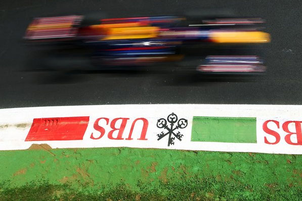 Sebastian Vettel em Monza (Reprodução)