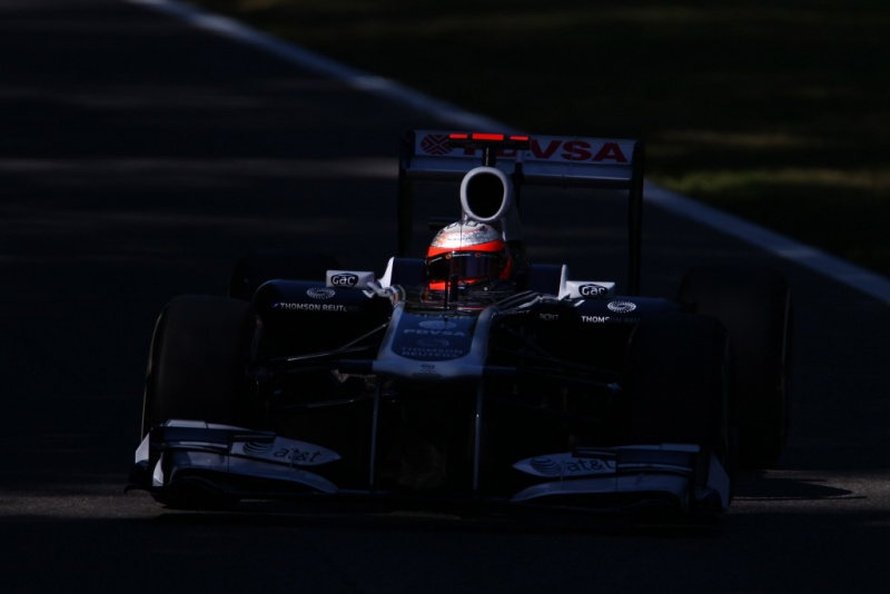 Barrichello: buscando uma luz na escuridão em Monza