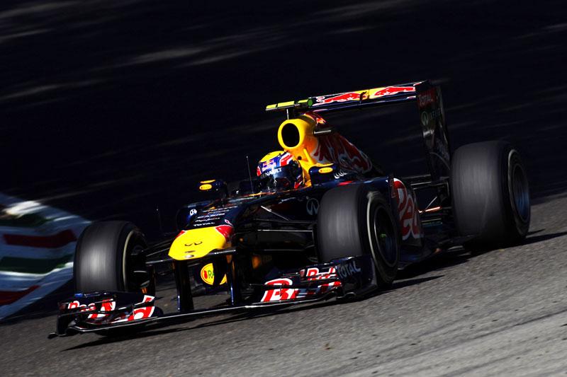 Webber larga em quinto em Monza