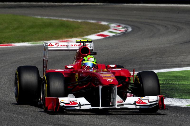 Massa ataca curva em Monza