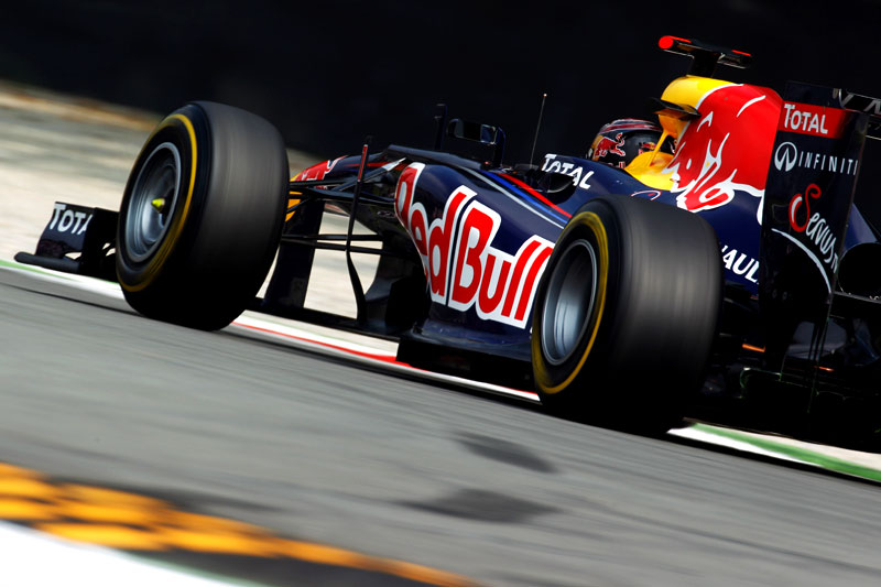 Sebastian Vettel vence em Monza