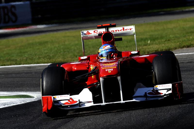 Fernando Alonso, em Monza