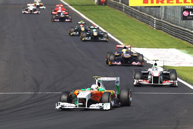 Di Resta andou bem em Monza