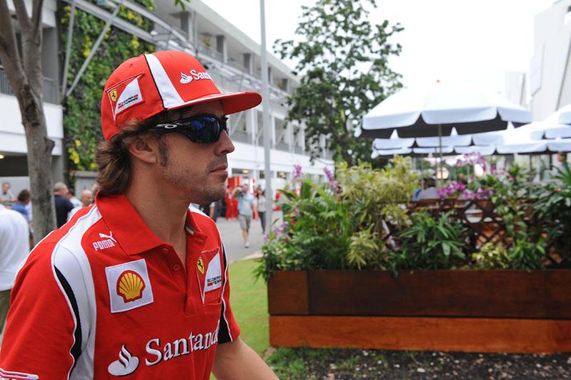 Alonso quer a terceira vitória em Cingapura