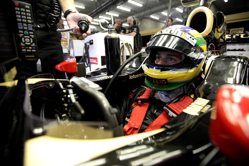 Bruno Senna e o Renault R31