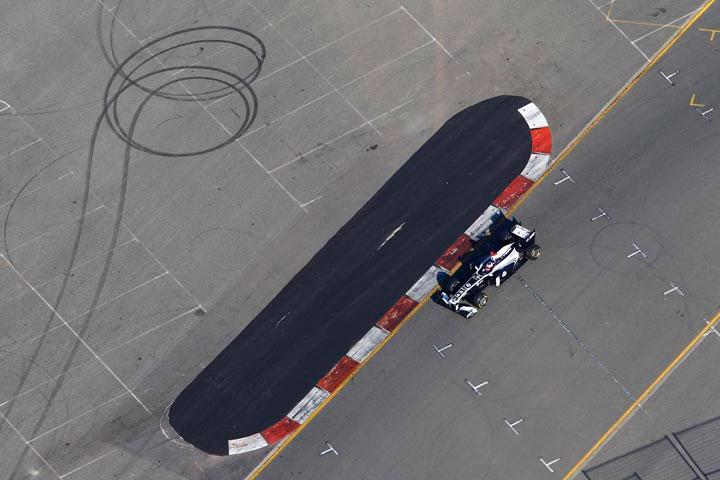 Rubens Barrichello em Melbourne
