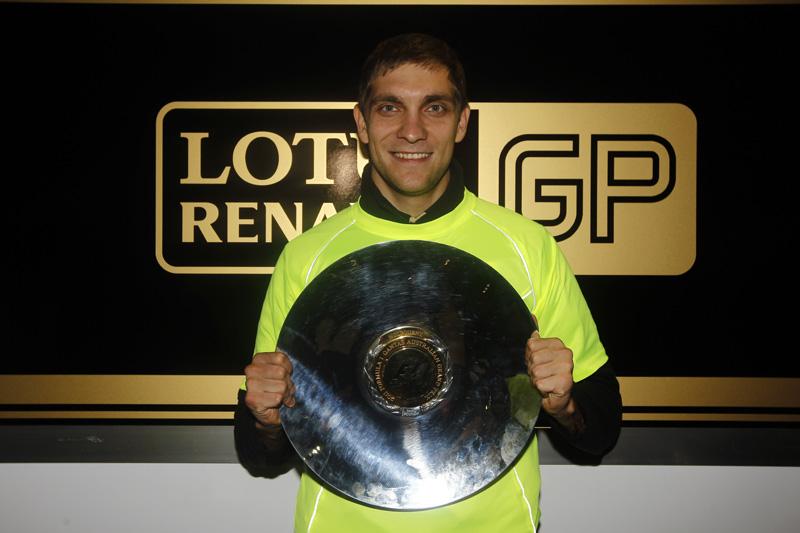 Petrov conquistou no domingo o primeiro pódio de um russo na Fórmula 1