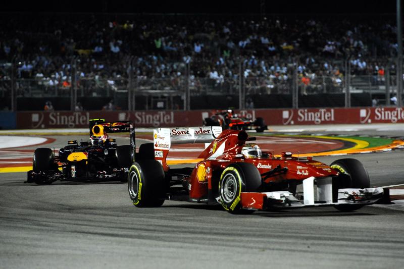 Fernando Alonso em Cingapura
