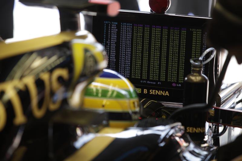 Bruno Senna fez três provas até agora pela Renault