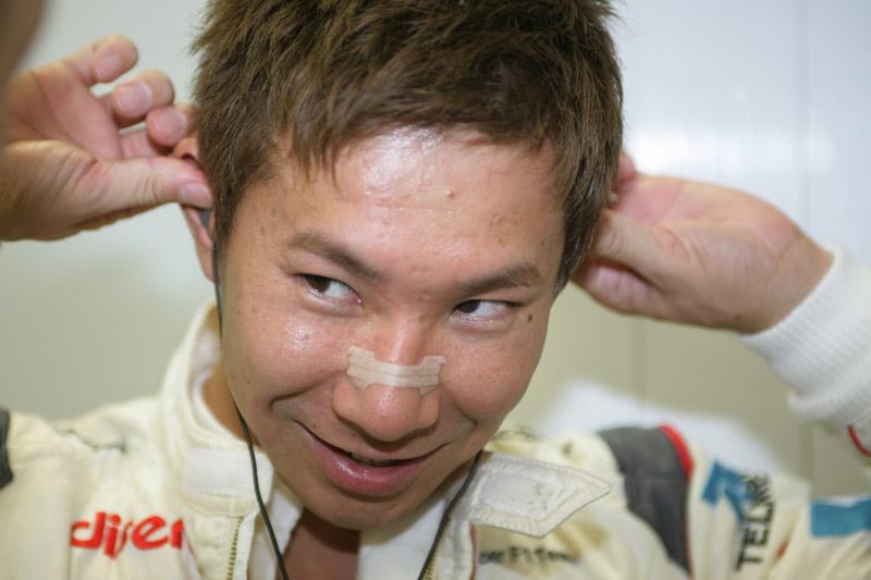 Kobayashi corre pelo segundo ano em casa