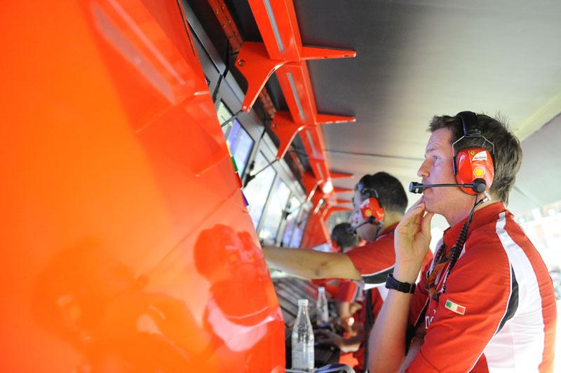 Rob Smedley durante o GP de Cingapura