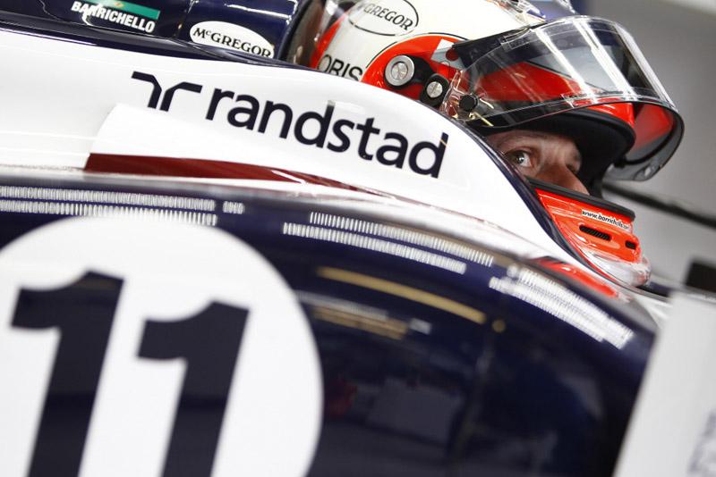Barrichello reclamou do comportamento do pneu, principalmente o composto duro