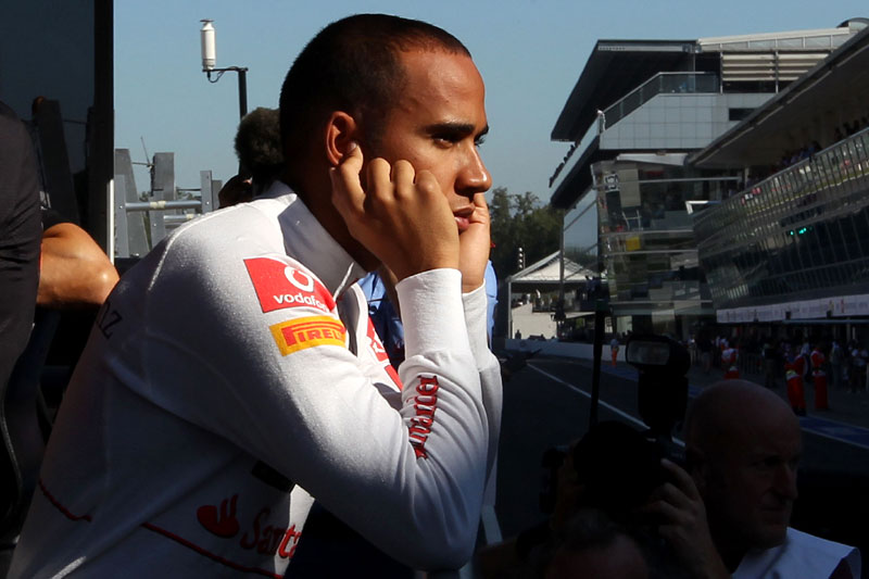 Lewis Hamilton: tampando os ouvidos para as críticas