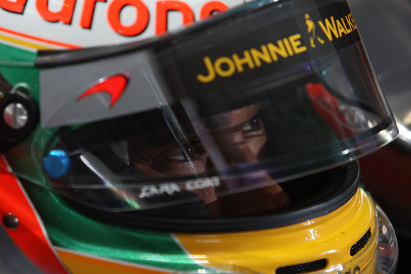 Hamilton é quinto colocado no mundial