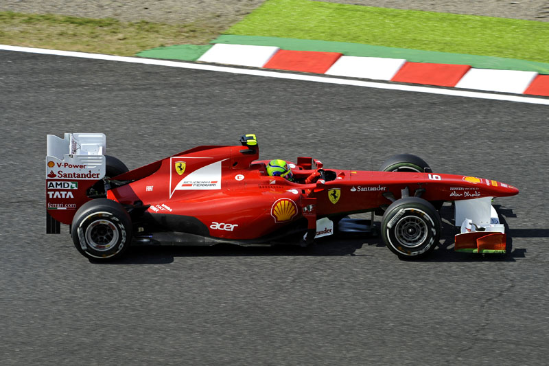 Felipe Massa em Suzuka