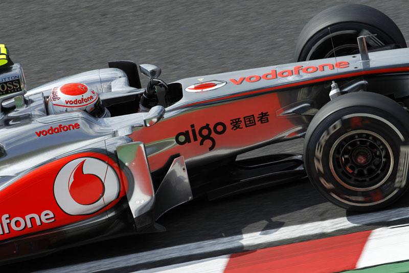 Jenson Button em Suzuka
