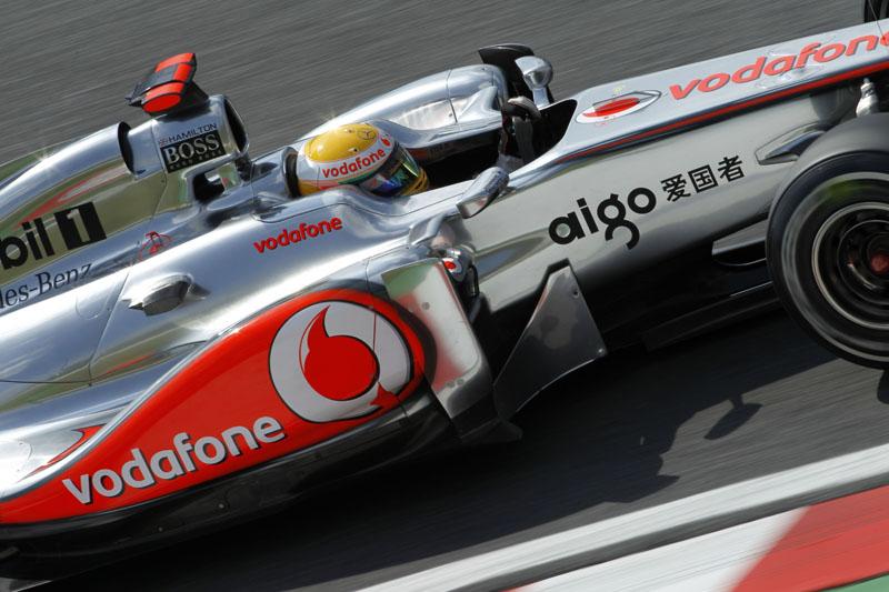 Hamilton foi o oitavo ao final da sexta-feira em Suzuka