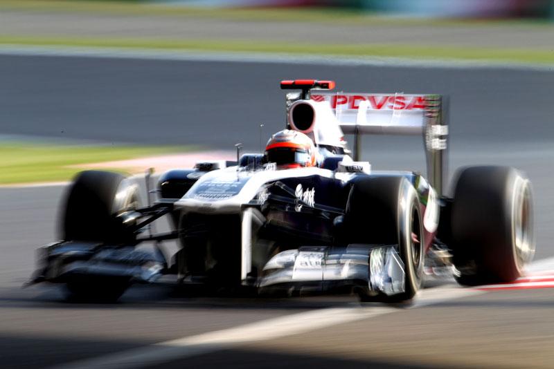 Rubens Barrichello em Suzuka