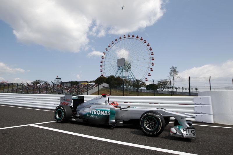 Schumacher está confiante para a corrida