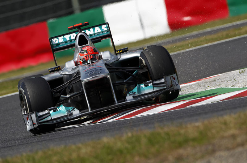 Michael Schumacher em Suzuka