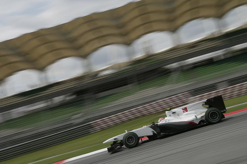 Kobayashi largou em nono ano passado na Malásia, na primeira vez que foi ao Q3