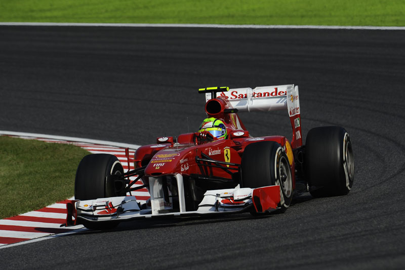 Massa foi sétimo no Japão