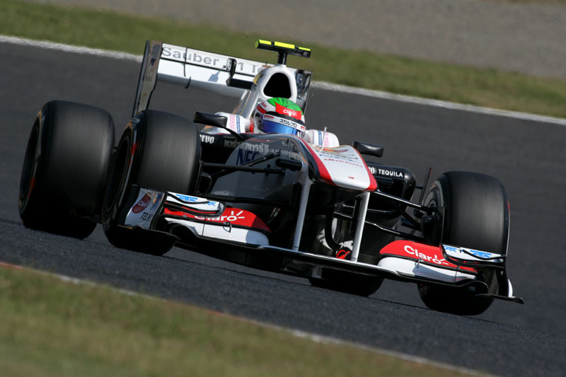 Sergio Perez em Suzuka