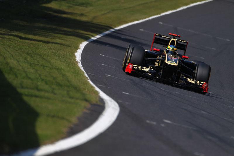 Senna teve dia para esquecer
