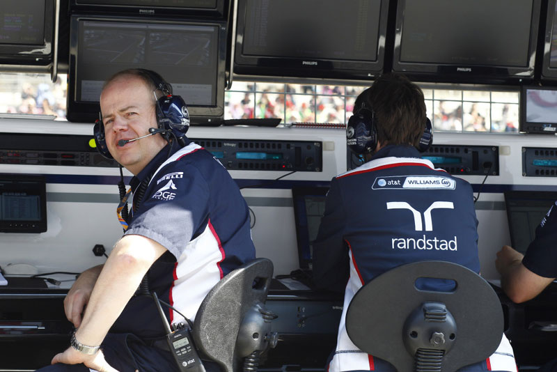 Mark Gillan: batismo de fogo na Williams