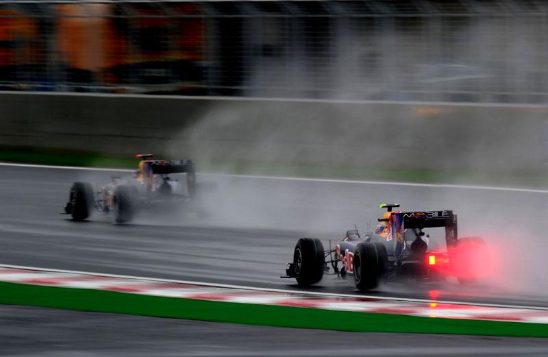 Chuva no GP da Coreia de 2010