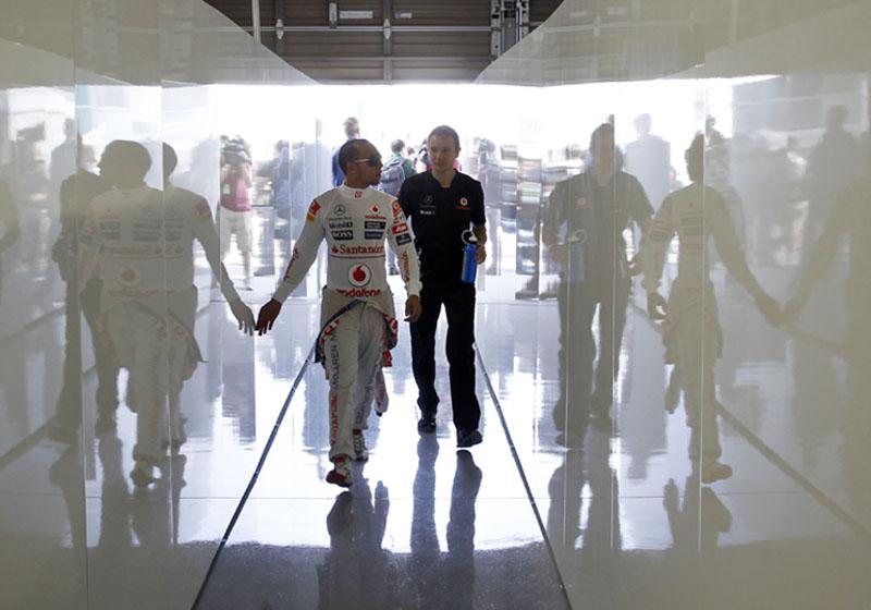 Hamilton admitiu que está tendo sequência longa de corridas ruins