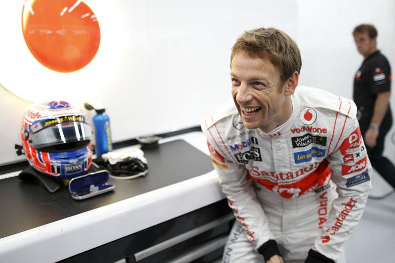 Button foi superado apenas por Hamilton