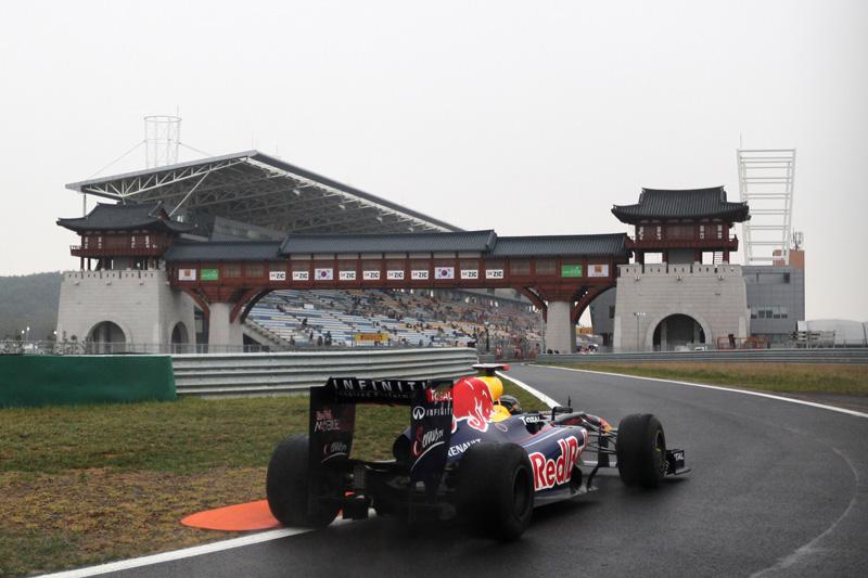 Vettel foi o terceiro na sexta-feira na Coreia
