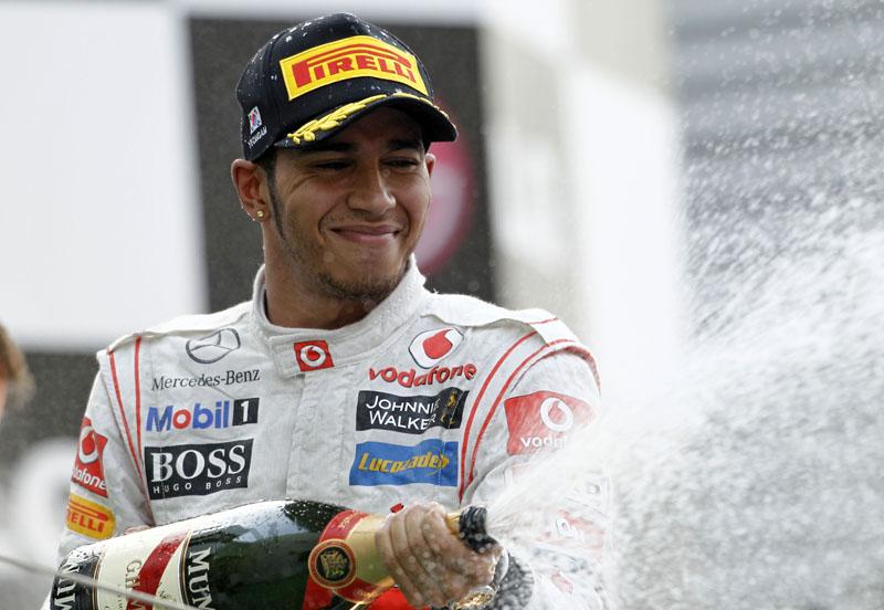 Hamilton chegou ao pódio pela primeira vez desde o GP da Alemanha
