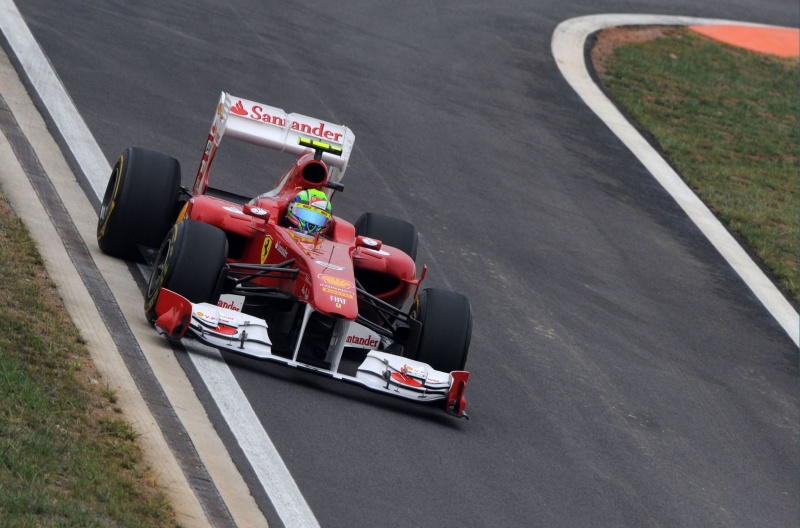 Um ano sem pódio: Massa não repete resultado de 2010