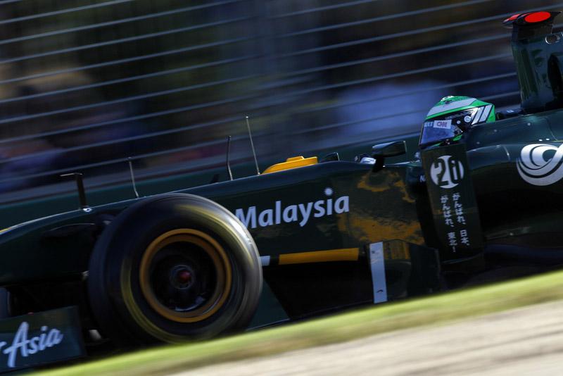 A Lotus também tem seu programa de desenvolvimento de pilotos