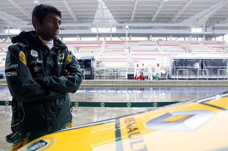 Chandhok espera por sua chance na Lotus