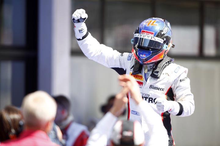 Leimer celebra vitória na GP2 (LAT/GP2)