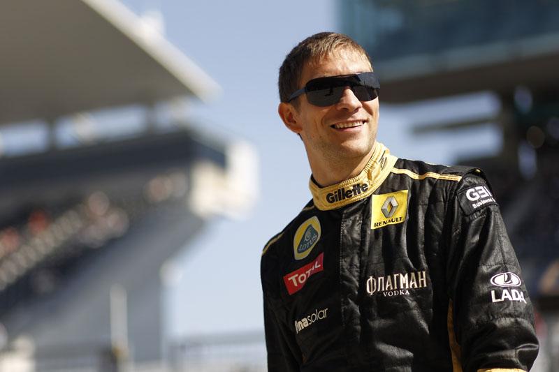 Petrov está tranquilo para 2012