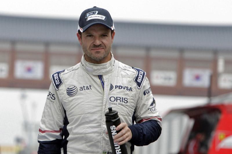 Barrichello se diz confiante para seguir na F-1 em 2012