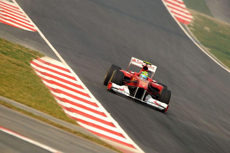 Massa foi o melhor da sexta-feira