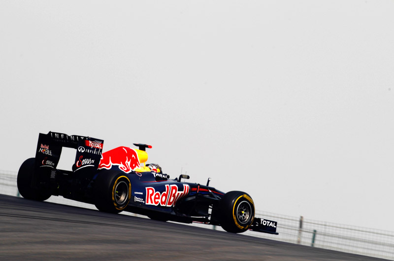Vettel não se importou em não liderar nenhuma sessão no dia