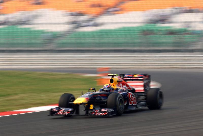 Webber foi o quinto na sexta-feira