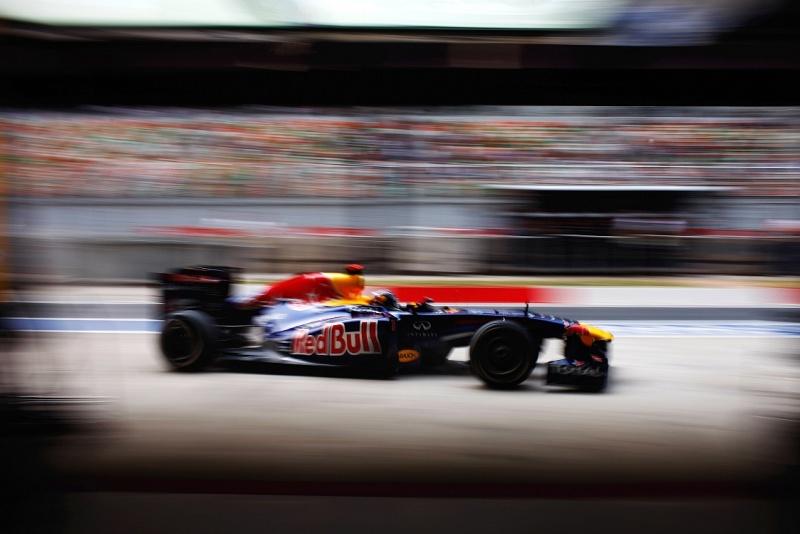 Vettel na Índia